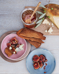 figs honey cheese