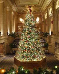 10 Hotels With Over-the-Top Holiday Decor