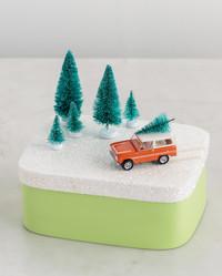Miniature Christmas Gift Boxes