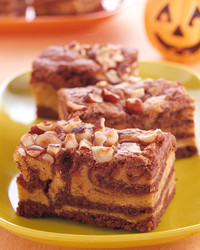 Pumpkin-Swirl Brownies