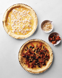 Stollen Fruit Tart or Almond Tart