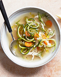 Zoodles! You Should Make This Gluten-Free Chicken Noodle Soup
