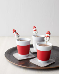 Marshmallow Snowmen Stirrers for Hot Chocolate