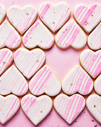 Pretty In Pink: Iced Heart Cookies