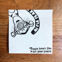 This Dad Surprises His Daughter With a Lunch Note Drawing Every Day