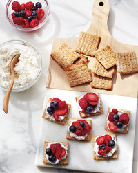 What's a Summery Take on Cheese and Crackers?