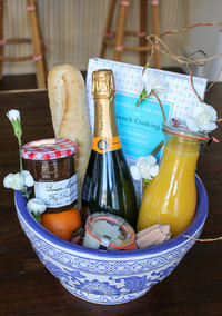 An Edible Gift Basket Inspired by the Beauty of Provence, France