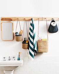 How to Stay Organized in a Bathroom with Zero Storage