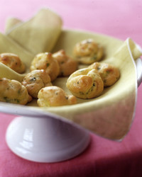 lemon parsley gougere puffs