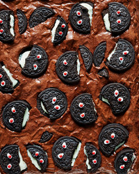 How to Make the Spookiest Halloween Brownies