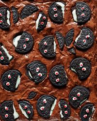 How to Make the Spookiest Halloween Brownies
