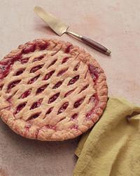 pear sour cherry pie