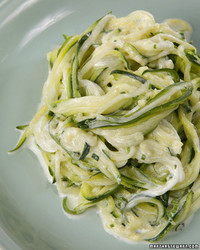 zucchini spaghete