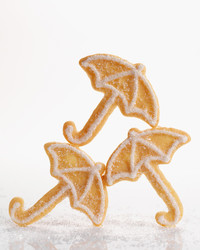 Umbrella Sugar Cookies