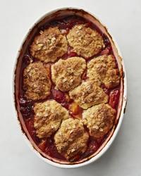 apricot berry cobbler