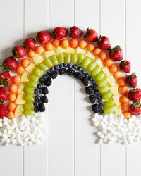 Rainbow, Lion, and Peacock, These Fruit Plates Are Cute and Healthy Too!