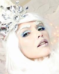 Frozen Snow Queen Halloween Makeup Tutorial by Kandee Johnson