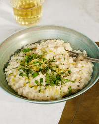 lemon parsley risotto