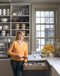 Martha's Top Kitchen Organizing Tips