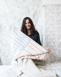 Rebecca Atwood Shares Her New Collection of Handmade Quilts