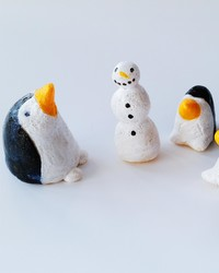 Winter Craft: Perky Salt Dough Penguins