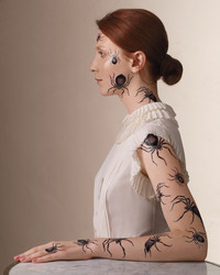 Irresistible Ink: Halloween Temporary Tattoos