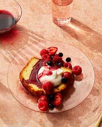 wine dessert sauce