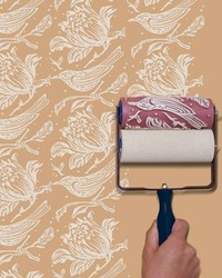 This Embossed Roller Paints a Repeat Pattern in One Smooth Motion