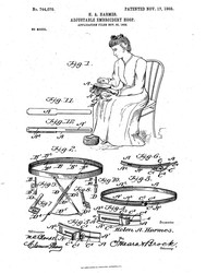 Helen A. Harmes Revolutionized the World of Embroidery