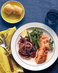 Starring Salmon! Here's a Simple Easter Dinner Menu for a Crowd