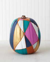 31 Ideas for a Painted Pumpkin