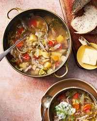 pork cabbage soup
