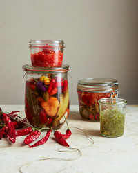 Spicy Pepper-Mint Jelly
