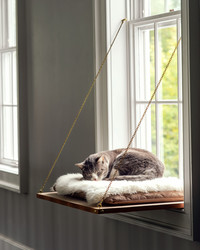 Your Cat Will Love Dozing in This DIY Window Perch