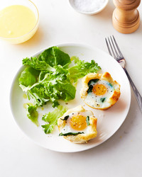 plated florentine egg cups