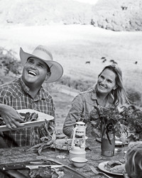 How a Family of Cowgirls and Cowboys Do Summer Entertaining