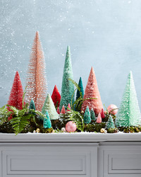 Turn Your Mantel Into a Snowy Winter Wonderland