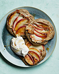 apple-buckwheat pancakes
