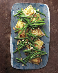 green bean ravioli salad