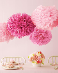 Craft Fun: Vintage Girl Pom-Poms