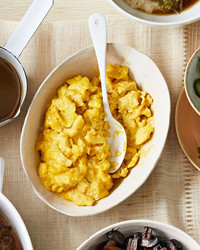 slow scrambled eggs