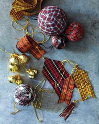 Ribbon Pennant Ornaments