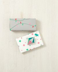 Holiday Patterned Gift Wrap