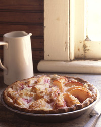 Peach and Creme Fraiche Pie