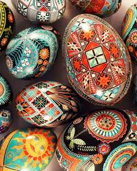 Ukrainian Pysanky Eggs