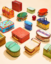 We Love Collecting Vintage Lunch Boxes