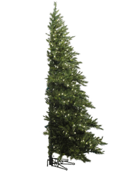 Everyone is Talking About These Half-Christmas Trees