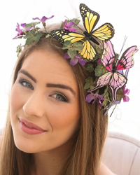 Spring Trend Alert! Butterfly Crowns are the New Floral Crowns