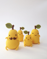 Too Cute! Check Out These Needle-Felted Food Figures