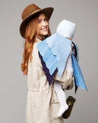 This Birdwatcher Mom and Her Little Bluebird are the Cutest Costume Idea
